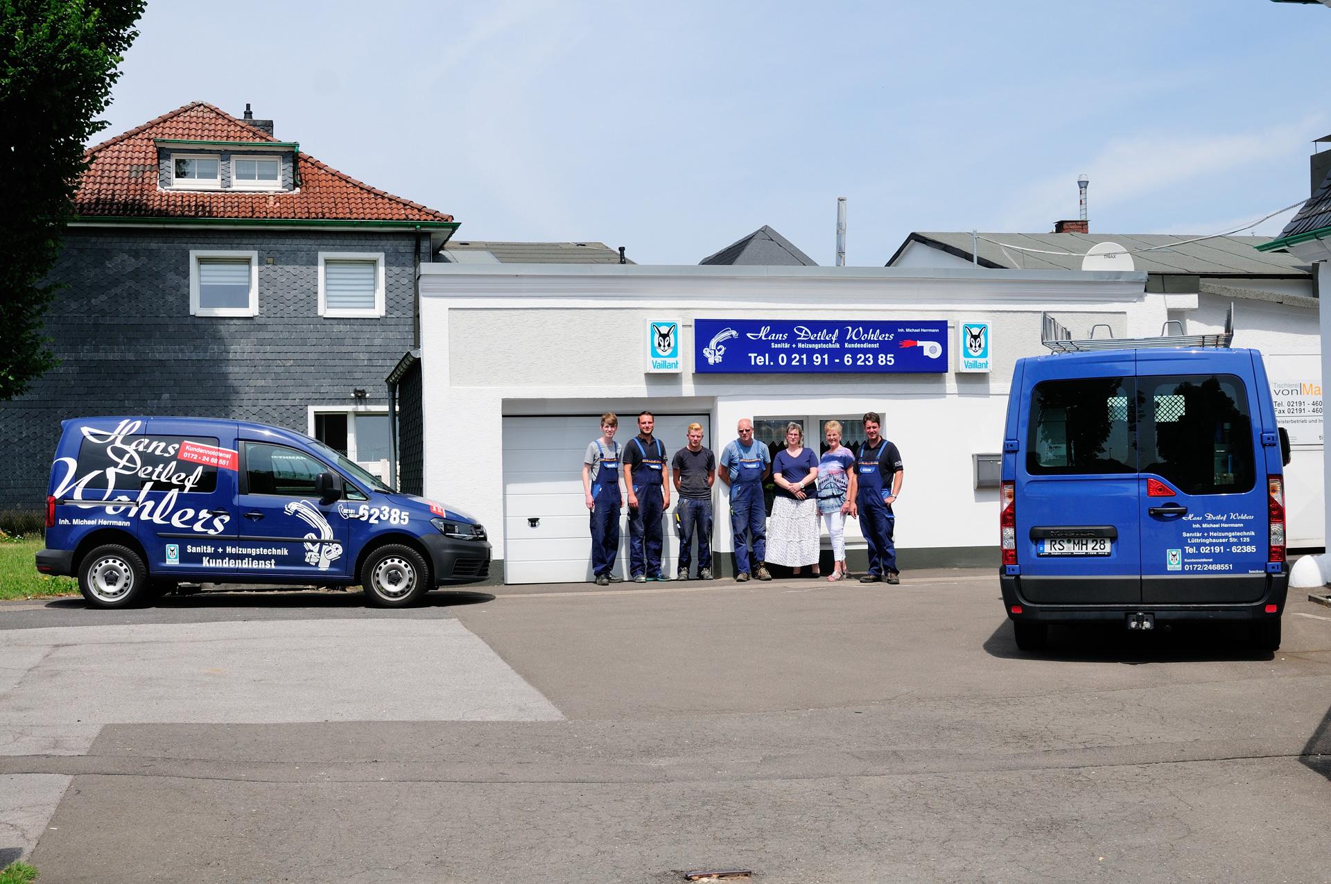 Wohlers Heizung Sanitär - Handwerker Remscheid